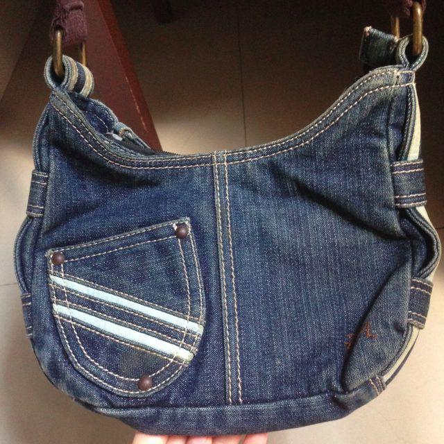 Vintage Sling Bag (Tas Selempang) Denim