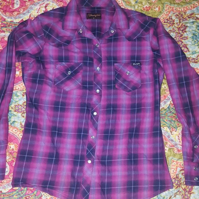 Wrangler Shirt Ladies 10