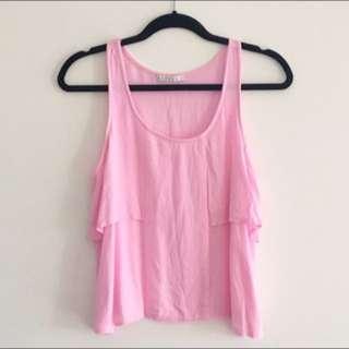 📮FREE POSTAGE Pink Mossman Top