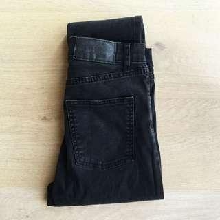 Black Cheap Monday Jeans