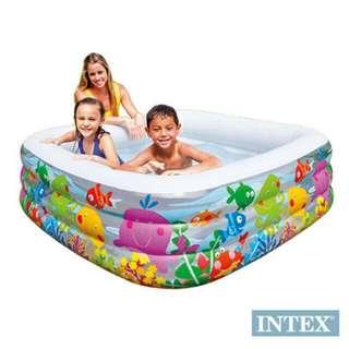 :.【INTEX】動物方型幼童戲水游泳池