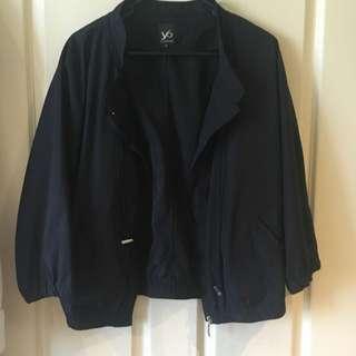 Yvonne Black Bomber Jacket Size 10