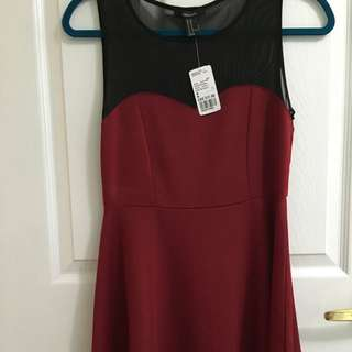 F21 red dress (with tag)