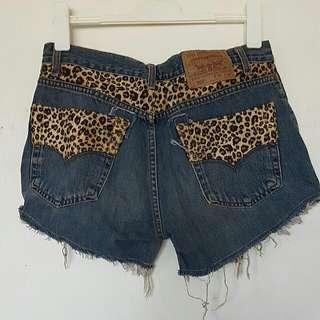 Vintage High Shorts