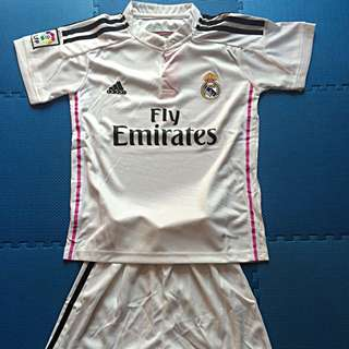 Jersey Kid Real Madrid Home 15-16