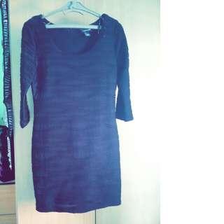 Black Dress Long Sleeve