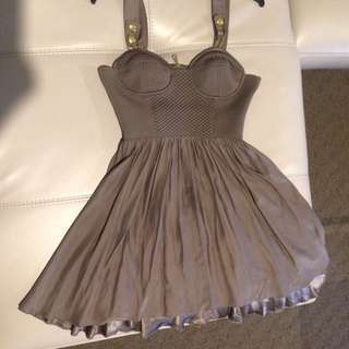 ALICE MCCALL - Quilted Babydoll Corset Dress