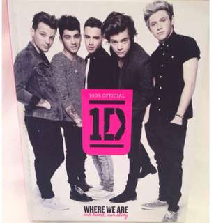 """One Direction """"Where We Are"""" Book"""