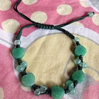 Pre-loved Jade/like bracelet