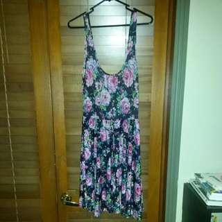 M Floral Dress