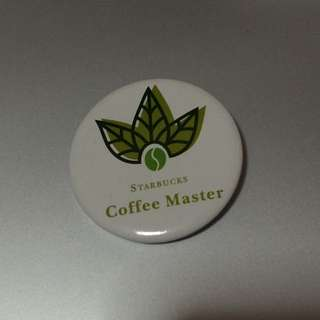 Starbucks Coffee Master Badge