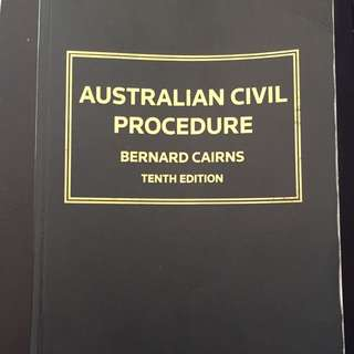 Australia Civil Procedure
