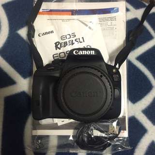Canon 100d w/ 18-55mm STM