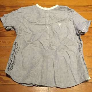 GUESS shirt in size L