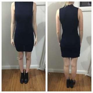 Navy Tight Dress