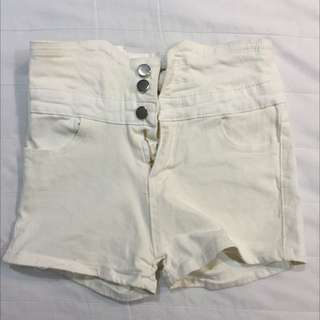 高腰背後交叉短褲✨