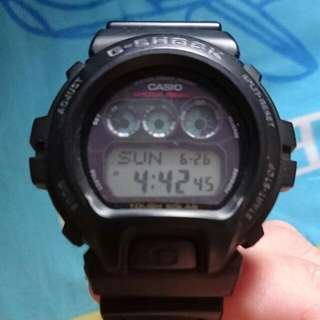G Shock Watch Black