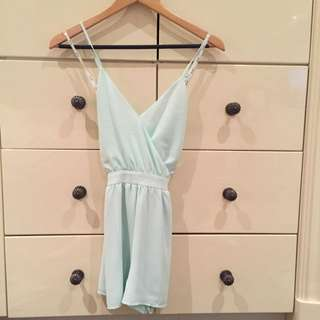 Bardot Playsuit Size 6