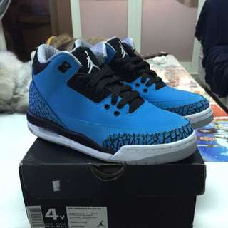 NIKE AIR JORDAN 3 RETRO BG 土耳其藍