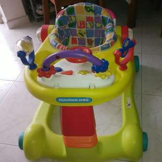 MAMA LOVE BABY WALKER WITH MUSIC N SOUND