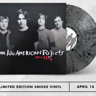 All American Rejects - Move Along. Vinyl Lp