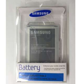 100% 原裝正貨三星 Samsung Galaxy Note 3 N9000 N9005 B800BE NFC 鋰 Battery 電池 充電池