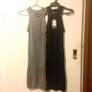ICE Knit Sweater Dresses Size S