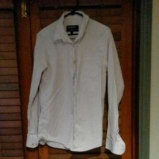 L Long Sleeve Button Up