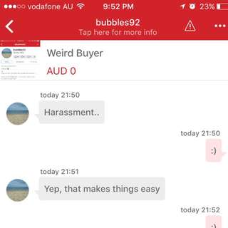 Weird Buyer Came Back