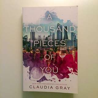 """""""A thousand pieces of you"""" book"""