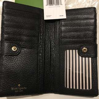 BN Kate Spade Leather Wallet