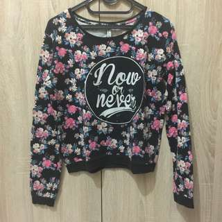 Stradivarius Flower Long Sleeve