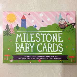 <<Reserved>> Baby Milestone Cards