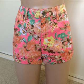 High Waisted Floral Mika & Gala Short