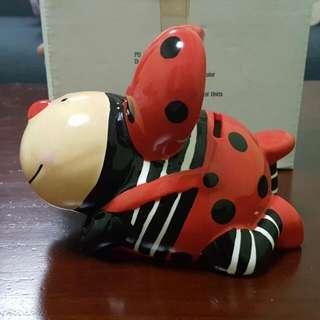 Ladybug Coin Bank.