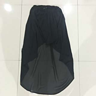 ZARA asymmetrical skirt (maxi)