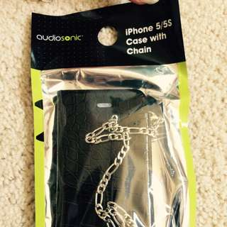 Audio Sonic iPhone 5 5s Case With Chain
