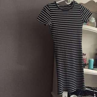 JOSH PRTS PENCIL DRESS
