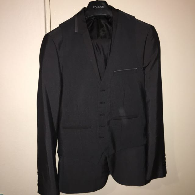 3 Piece Suit Jacket, Vest, Pants