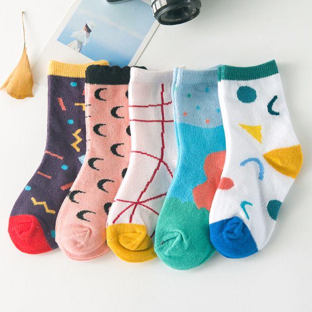 [一組5雙]✨樂園系✨可愛童襪 男寶 女寶 男童襪 女童襪 襪子  4-6歲🎀