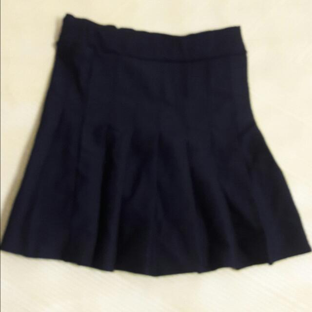黑色百折裙(現流行)