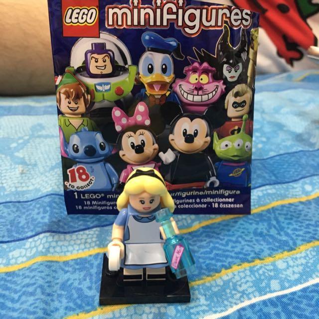 迪士尼 ❌ 樂高LEGO 愛麗絲