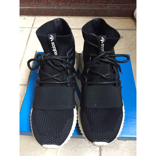 (保留)二手正品 Adidas Tubular Doom Pk 襪套 24.5