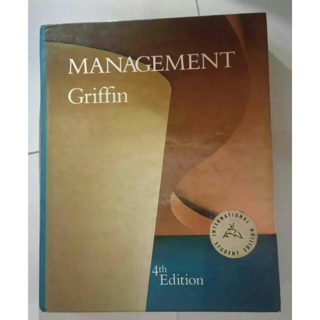 管理學課本 Management Griffin 4th Edition