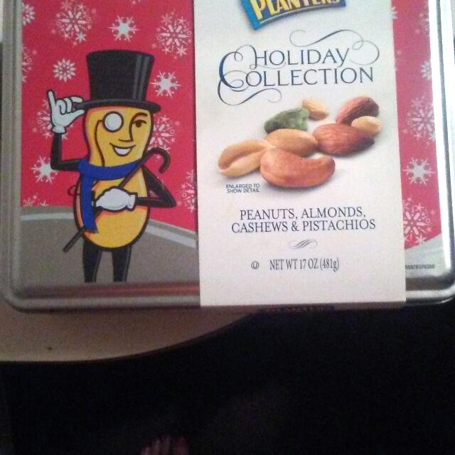 A Collection Tin For Your Peanuts To Use For Christmas Or Anything Just Trying To Support My Family