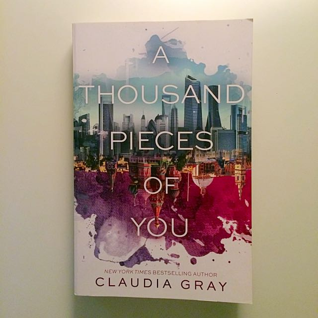 """A thousand pieces of you"" book"
