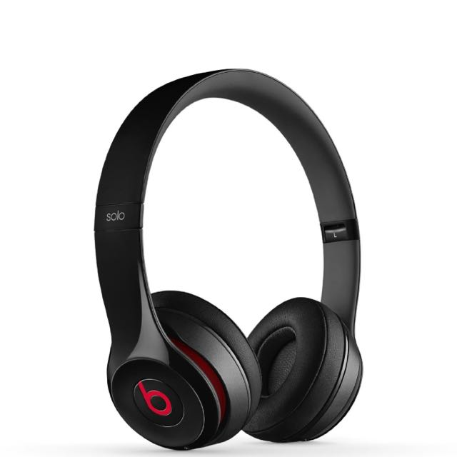 Beats Solo2 Wireless Headphones (Black)