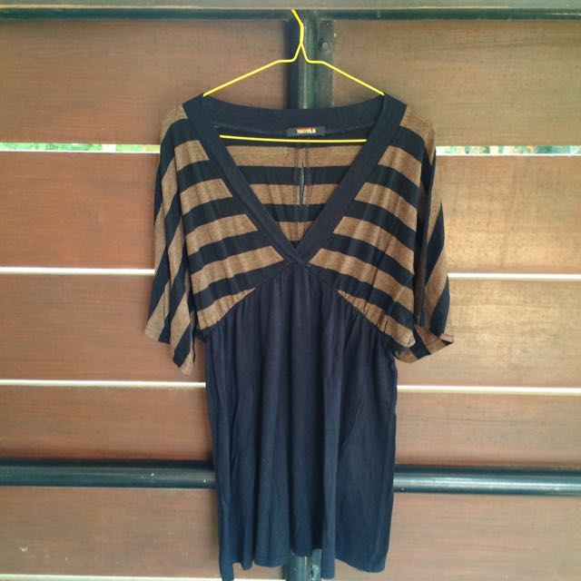 Black cotton Dress Plus Size