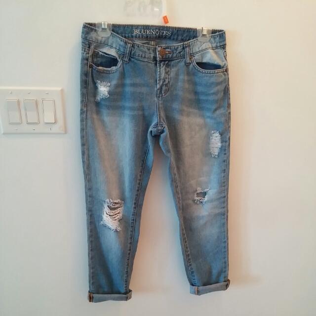 Bluenotes Boyfriend Jeans Sz 24