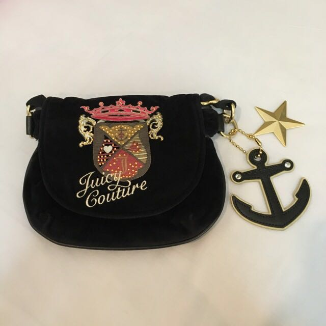 BN JUICY COUTURE AUTHENTIC MINI SLING BAG